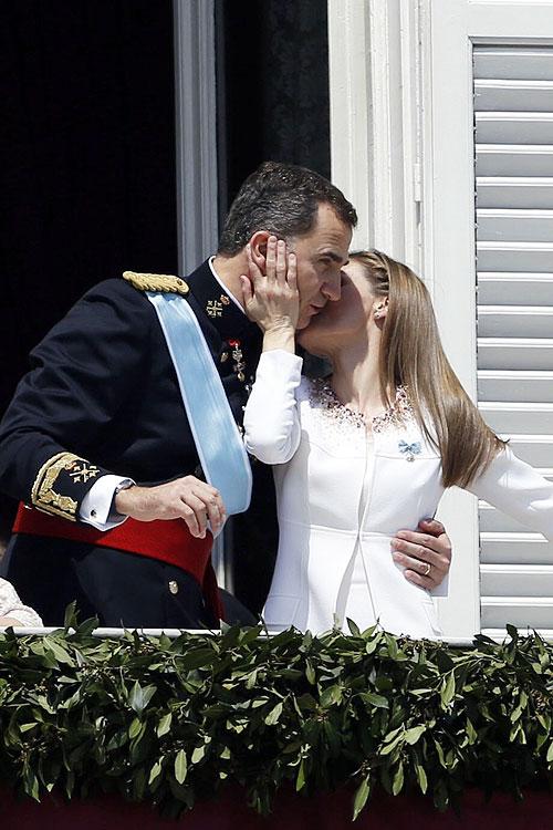 Letizia Ortiz, Felipe VI