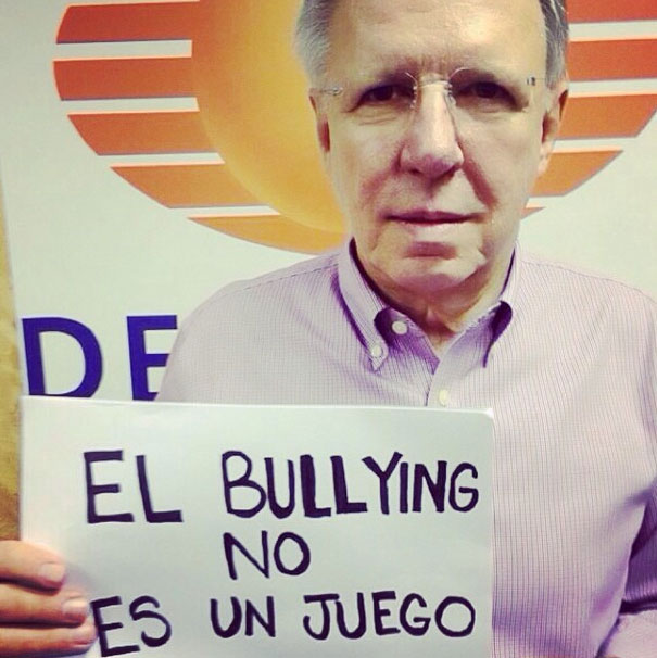 Joaquín López-Doriga, bullying