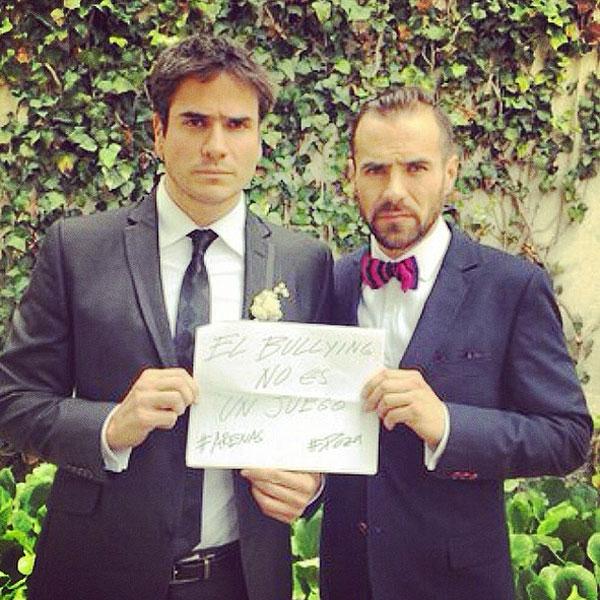 Daniel Arenas, Jorge Poza, bullying
