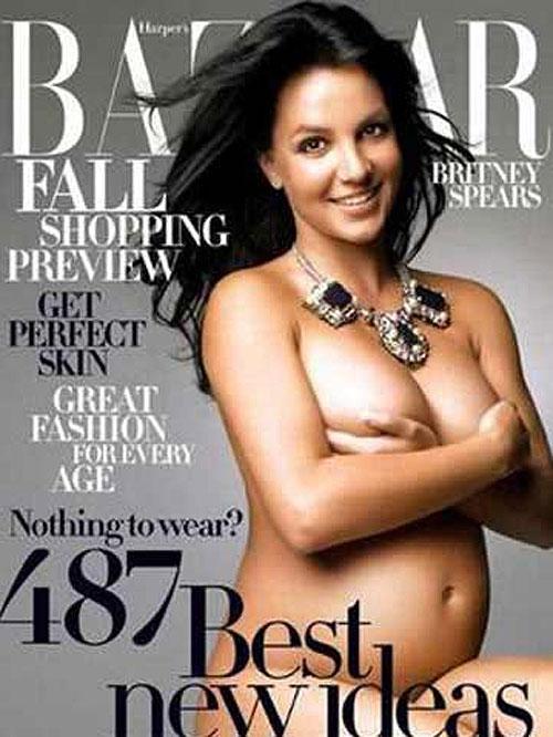 Britney Spears, embarazadas en portada