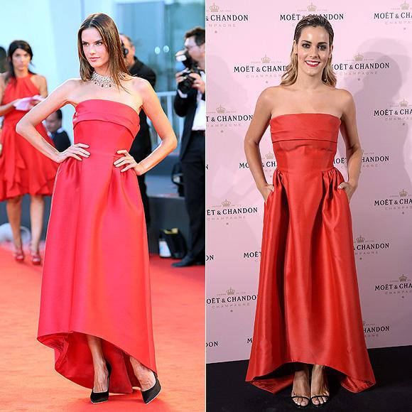 DOS mujeres un vestido, Alessandra Ambrosio vs. Alejandra Onieva