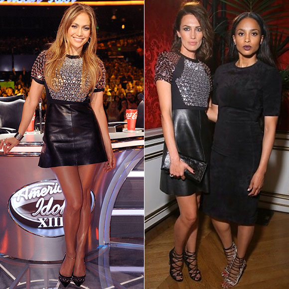 Dos mujeres un vestido, Jennifer López, Nieves Álvarez