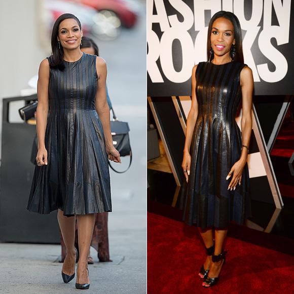 Dos mujeres un vestido, Rosario Dawson, Michelle Williams
