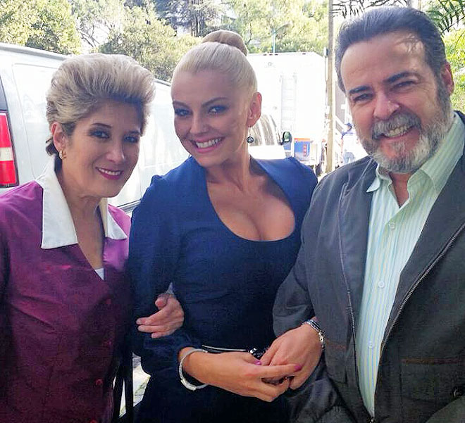 Marjorie de Sousa, Olivia Bucio, César Évora, Míralos