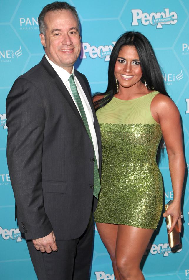 Maripily Rivera y Alberto Rodríguez