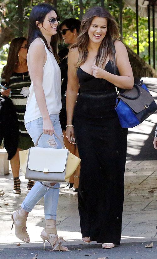 Khloe Kardashian, Kendall Jenner, Kris Jenner, Míralos
