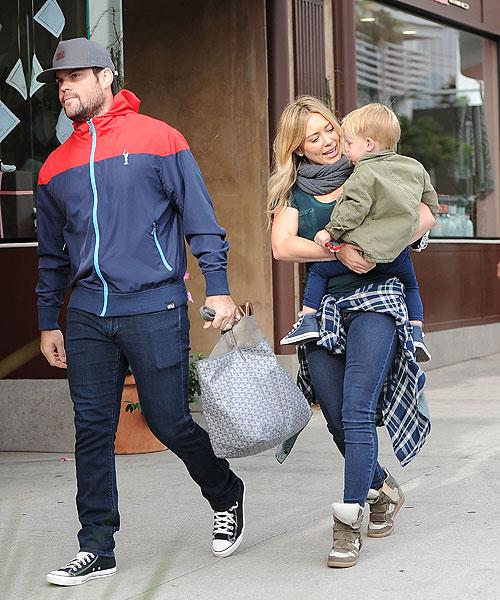 Hilary Duff, Mike Comrie, Luca Comrie, rupturas 2014