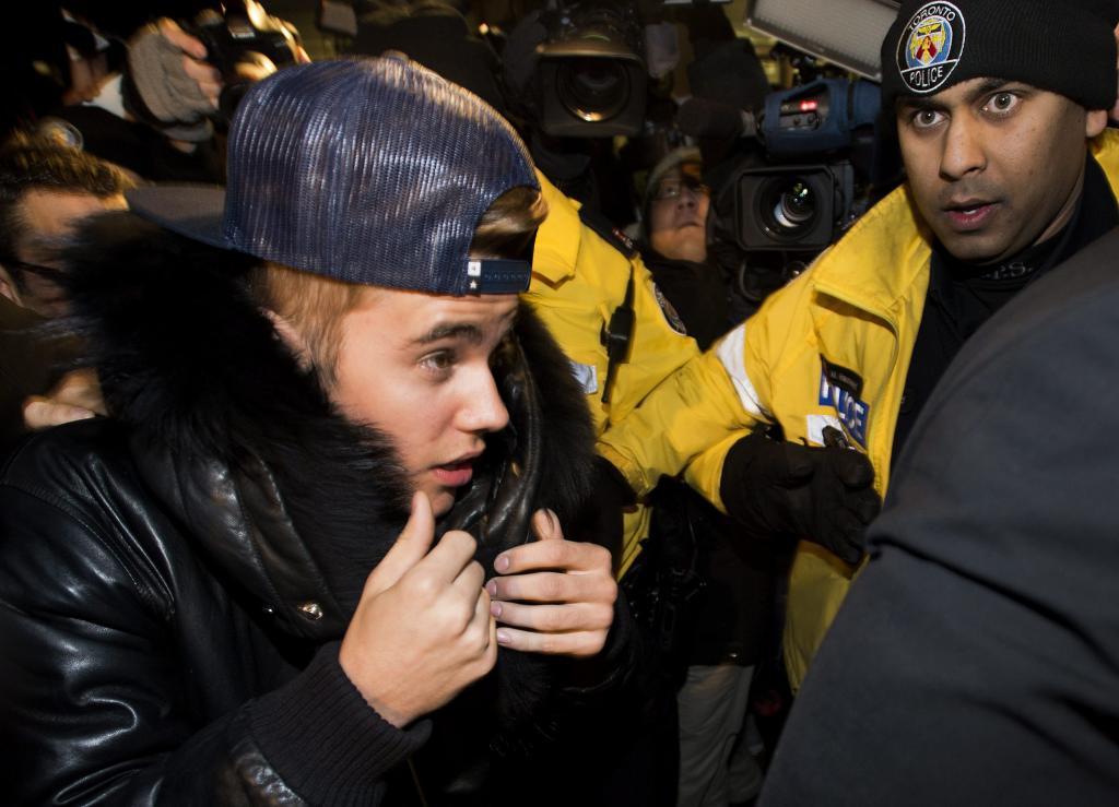 Justin Bieber, Toronto, cargos, agresión