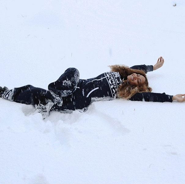 Beyoncé, vacaciones, Islandia