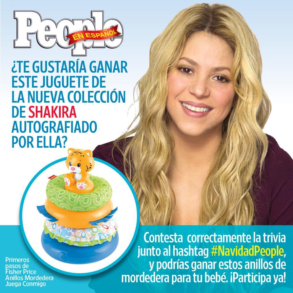 CONCURSO: Gana un juguete autografiado de la nueva colección de Shakira