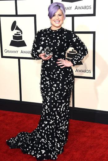 Grammy 2015 Ellas, Kelly Osbourne