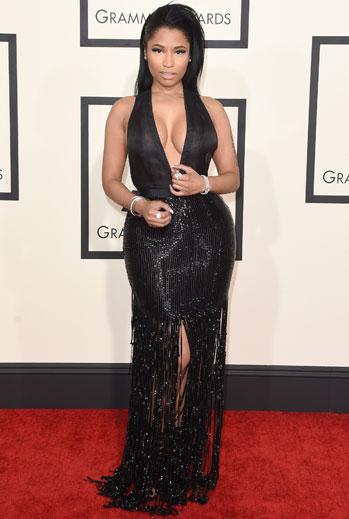 Grammy 2015 Ellas, Nicki Minaj