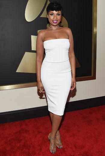 Grammy 2015 Ellas, Jennifer Hudson