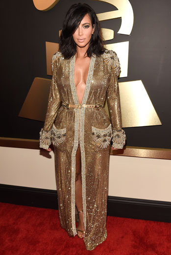 Grammy 2015 Ellas, Kim Kardashian