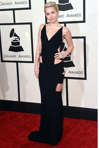 Grammy 2015 Ellas, Miley Cyrus