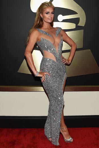 Grammy 2015 Ellas, Paris Hilton