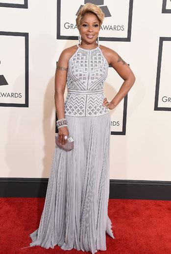Grammy 2015 Ellas, Mary J. Blige