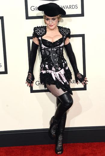 Grammy 2015 Ellas, Madonna