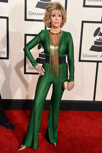 Grammy 2015 Ellas, Jane Fonda
