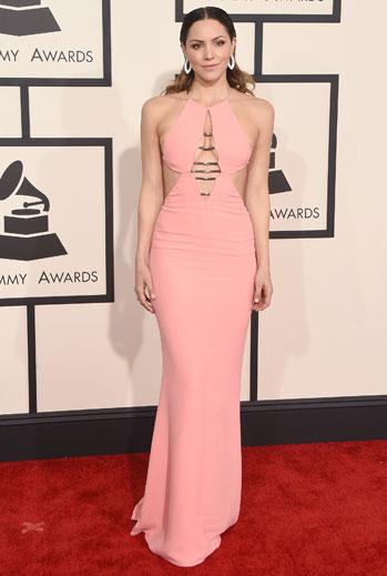 Grammy 2015 Ellas, Katharine McPhee