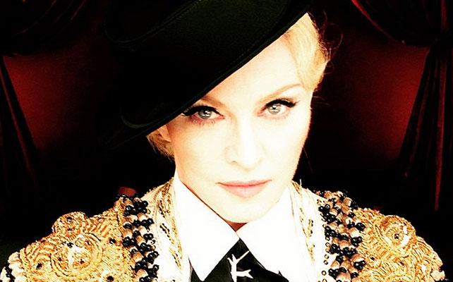 Madonna para articulo video snapchat