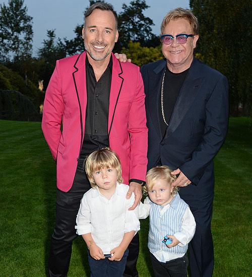 Padres gay cool, Elton John, David Furnish