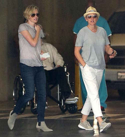 Ellen DeGeneres, Portia de Rossi, Míralos