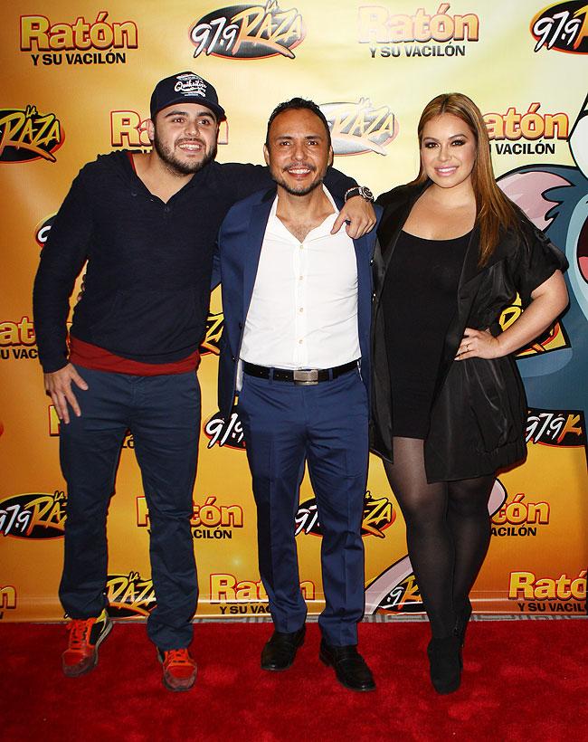 Gerardo Ortiz, Chiquis Rivera, Martín Romero, Míralos