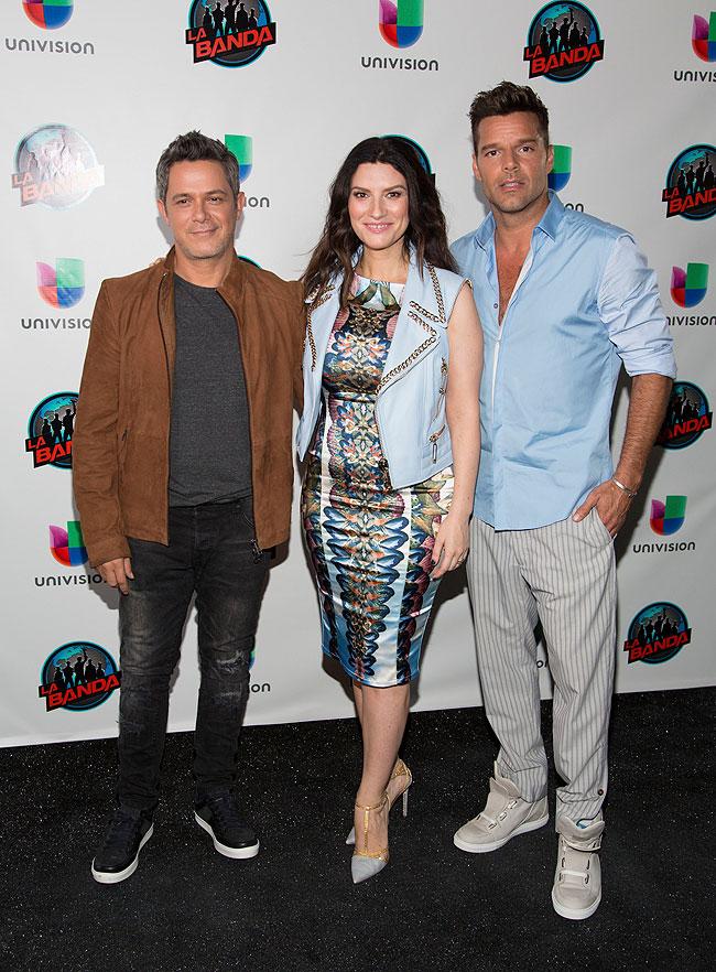Alejandro Sanz, Laura Pausini, Ricky Martin, Míralos