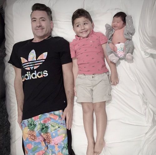 Jorge Bernal, Lucas, día de los padres