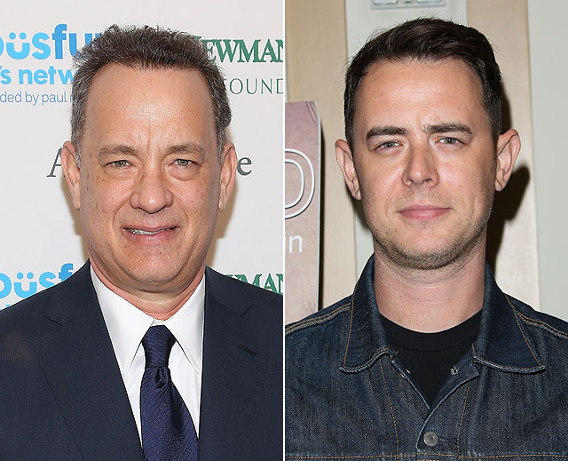 Tom Hanks, Colin Hanks, día de los padres