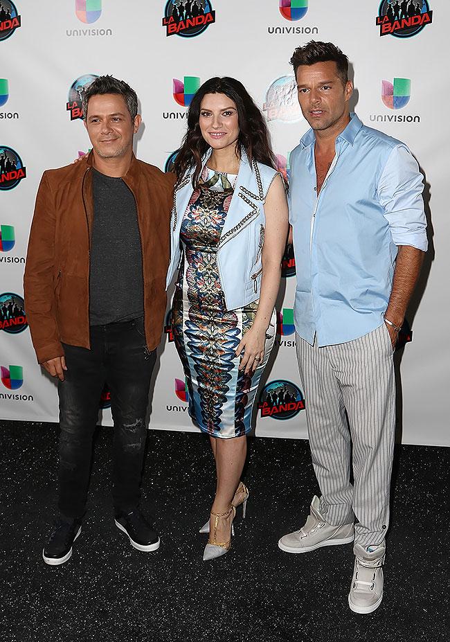 Alejandro Sanz, Ricky Martin, Laura Pausini, La Banda