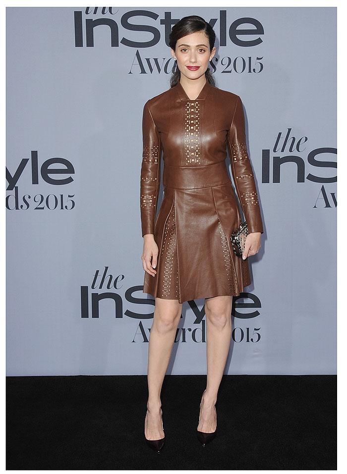 Emmy Rossum, InStyle Awards
