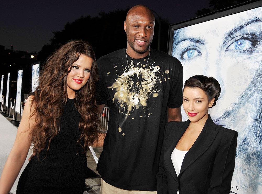 Khloé Kardashian, Lamar odom, Kim Kardashian