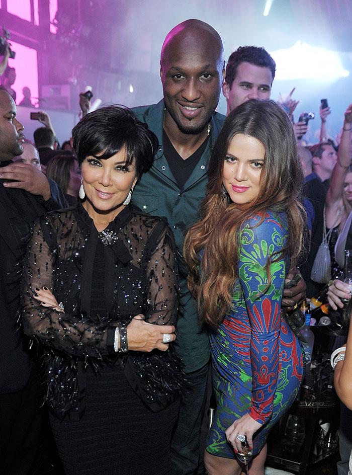 Khloé Kardashian, Lamar odom, Kris Jenner