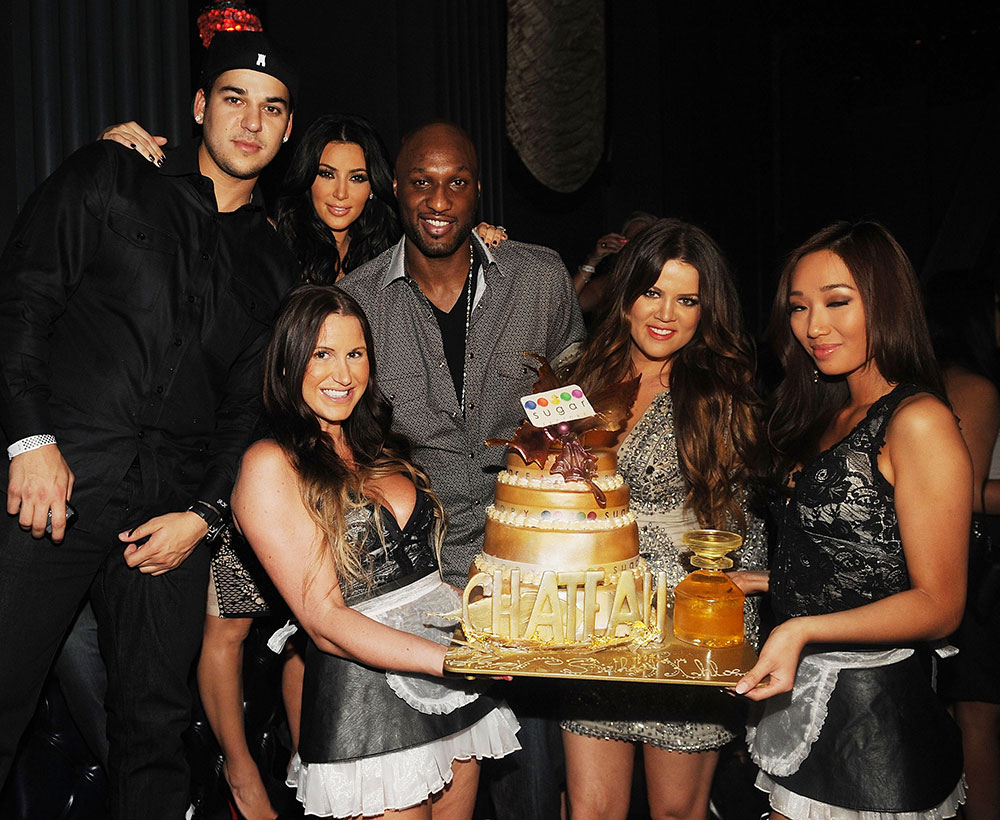 Rob Kardashian, Kim Kardashian, Lamar Odom, Khloe Kardashian