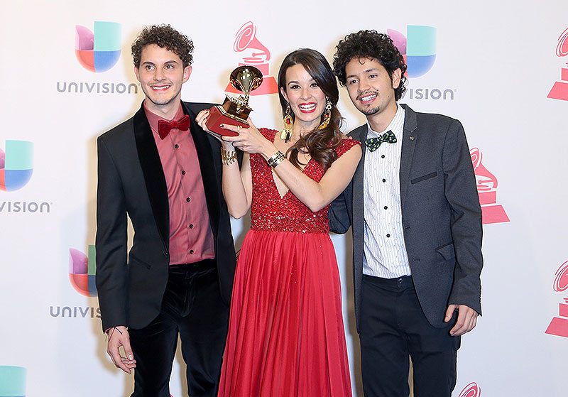 Nicolás Junca, Santiago Prieto, Catalina García