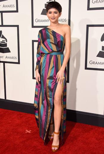 Grammy 2015 Ellas, Zendaya