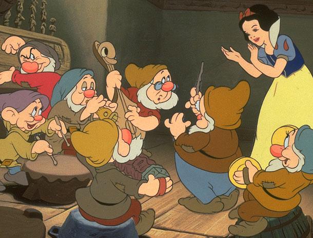 Snow White, Disney