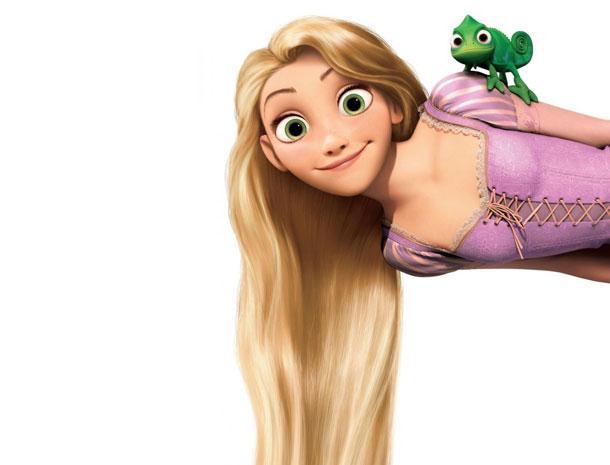 Rapunzel, Disney