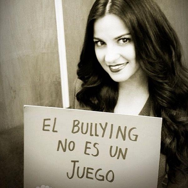 Maite Perroni, bullying
