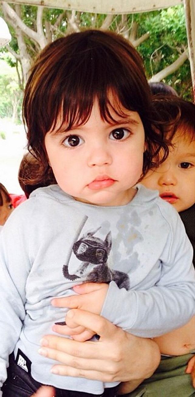 Milan, Sasha, los hijos de Shakira