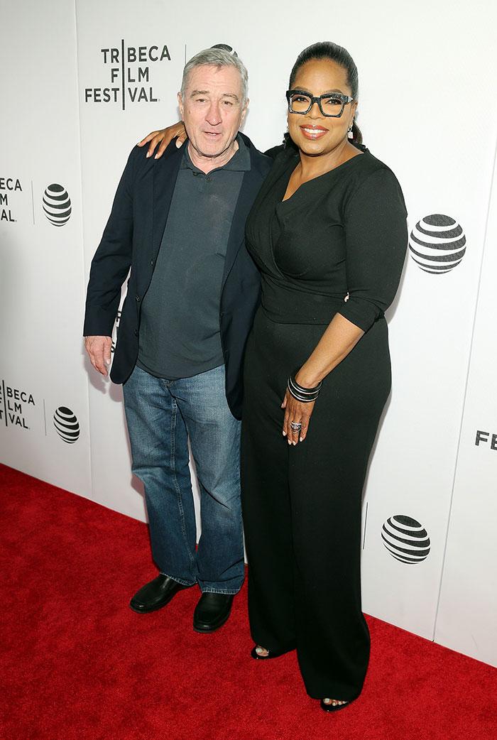 Robert De Niro , Oprah Winfrey