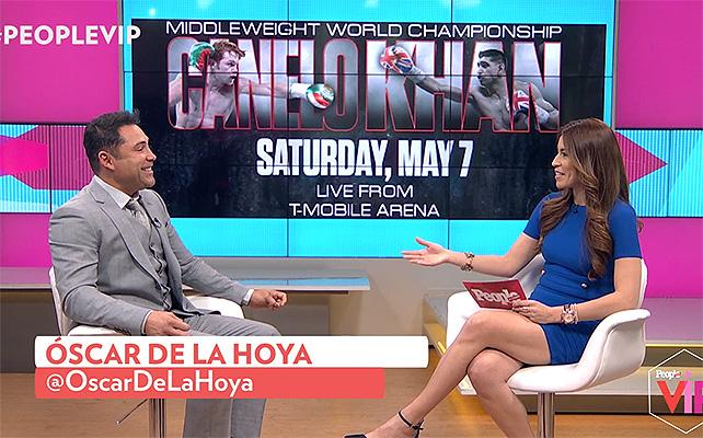 Oscar de la Hoya, People VIP