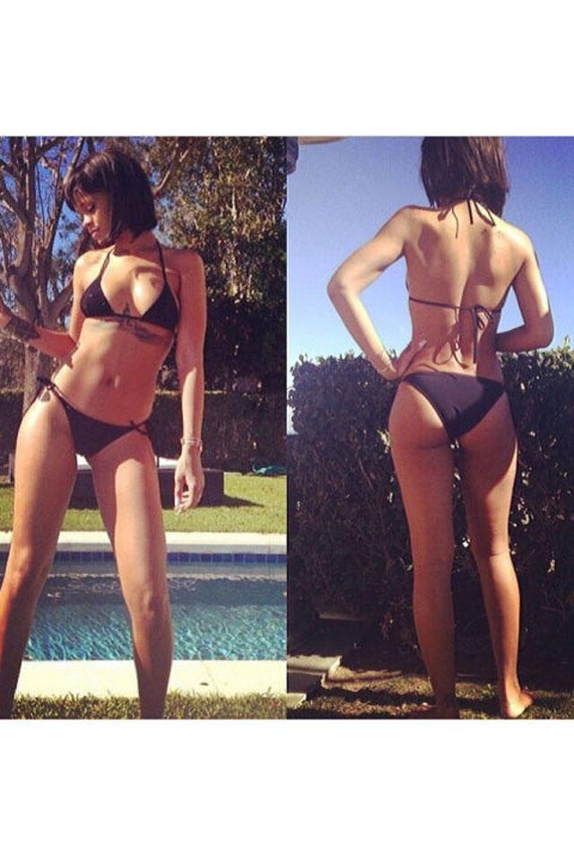 Traseros famosos, Rihanna