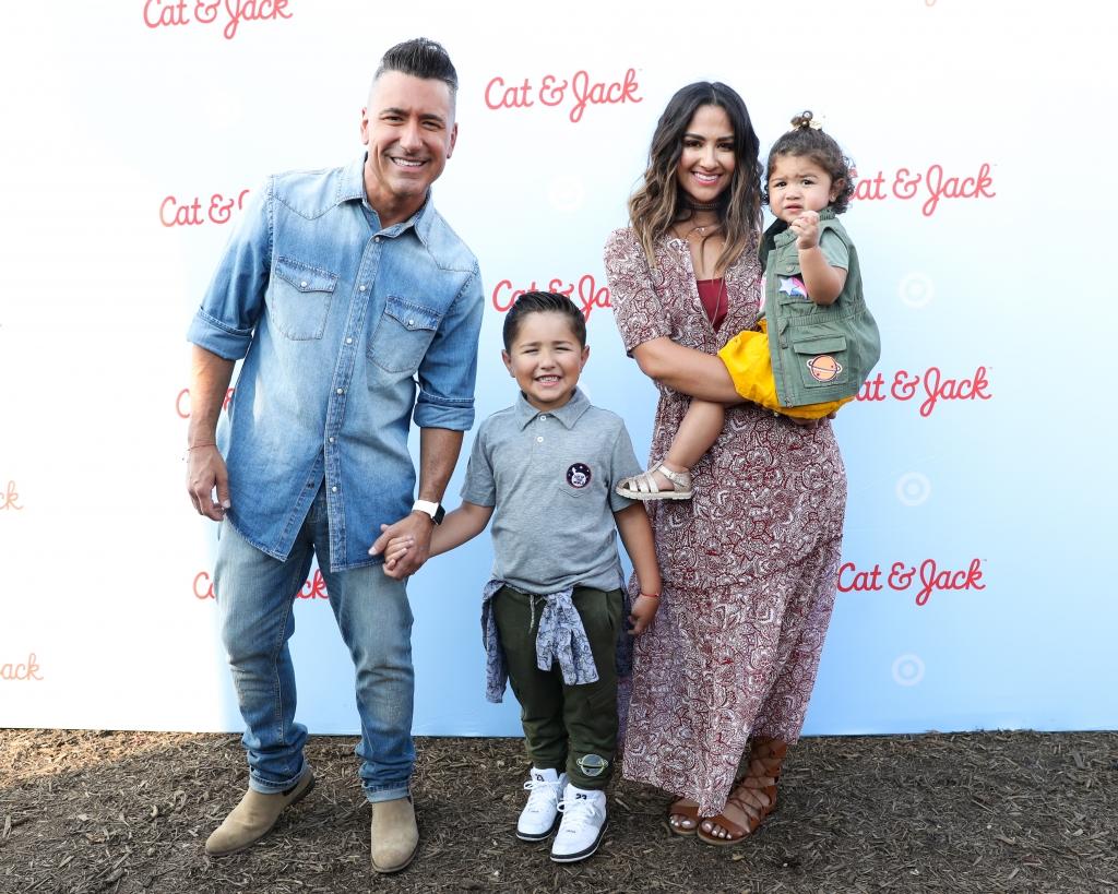 Jorge Bernal y su familia