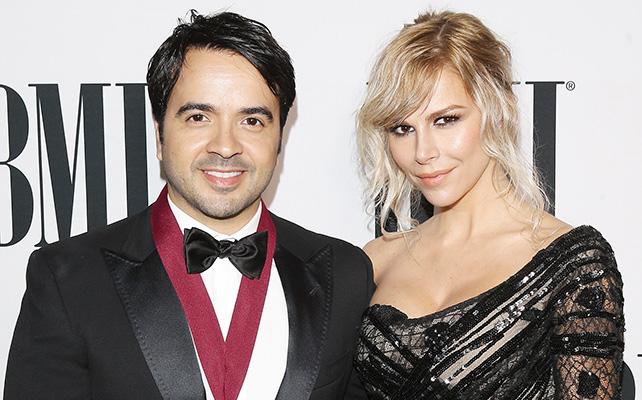 Luis Fonsi y Agueda López