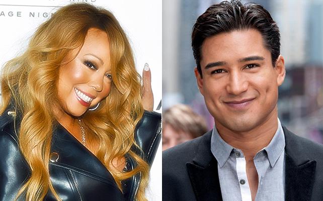 Mariah Carey y Mario López