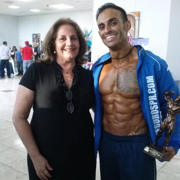 Eric Martin y su madre