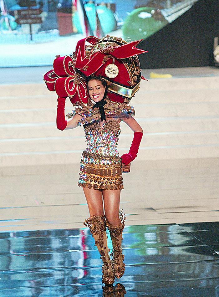 Creaciones extravagantes, Miss Universo